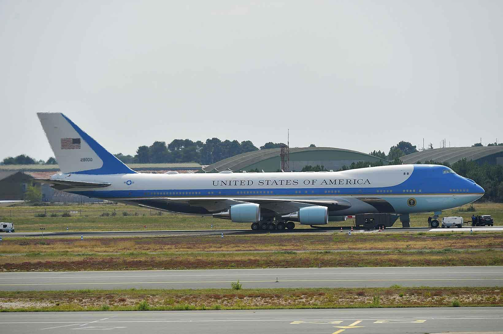avions du G7 Air Force One