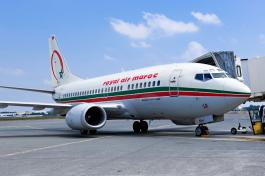Royal Air Maroc plane