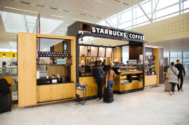 Starbucks à l'Aéroport de Bordeaux