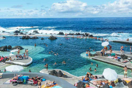 Porto Moniz's pools