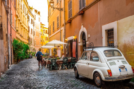 Stop over in Trastevere