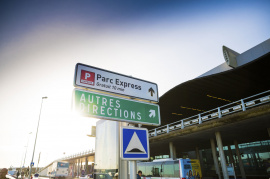 Parking P express Aéroport de Bordeaux