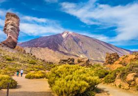 View the island from Mount Teide