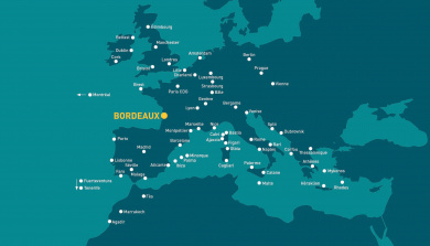 Carte destinations été 2020