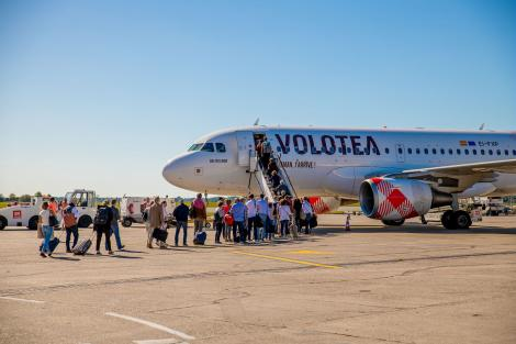 Volotea in Bordeaux Airport