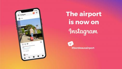 Bordeaux airport on Instagram