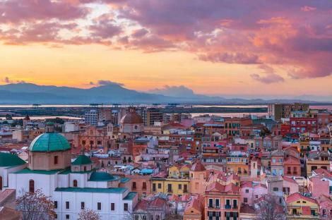 Cagliari, a sun-kissed city