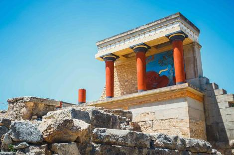 Wander around Crete's mythical sites