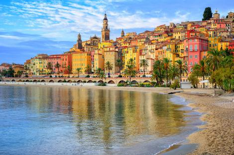 The gorgeous vistas of the French Riviera