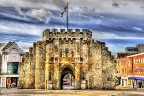 See landmarks from the Middle Ages