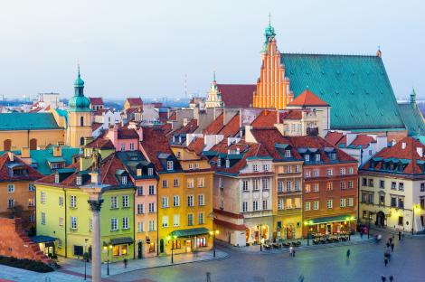 Warsaw's fascinating city centre